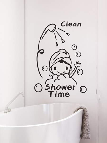 Cartoon Graphic Wall Sticker