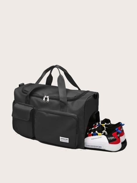 Pocket Front Large Capacity Duffle Bag