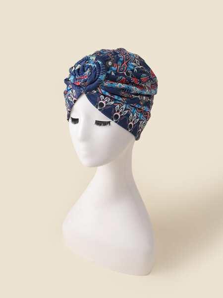 Flower Pattern Hat