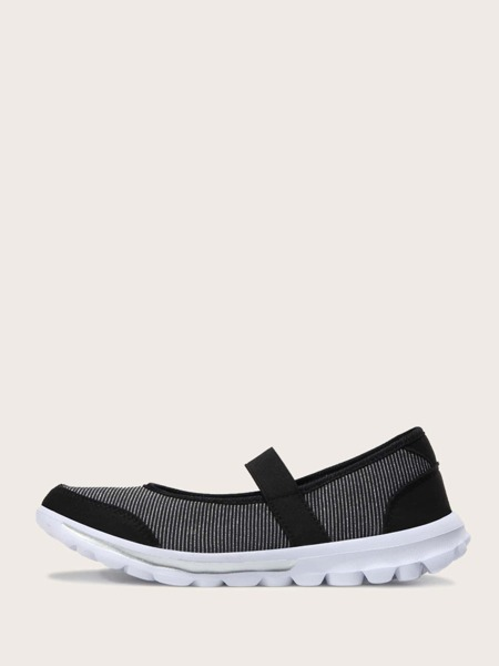 Elastic Strap Running Shoes