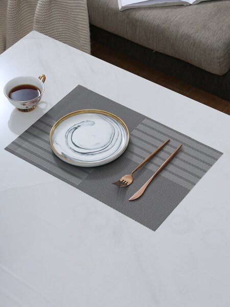 1pc Striped Pattern Placemat