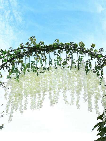 1pc Artificial Flower With 3pcs Branch