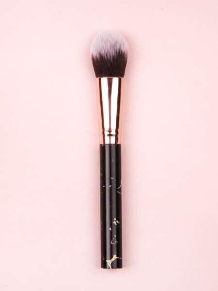 1pc Marble Pattern Blush Brush