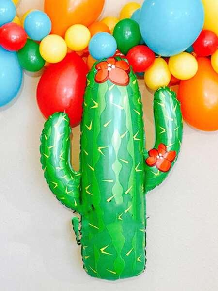 1pc Cactus Shaped Balloon