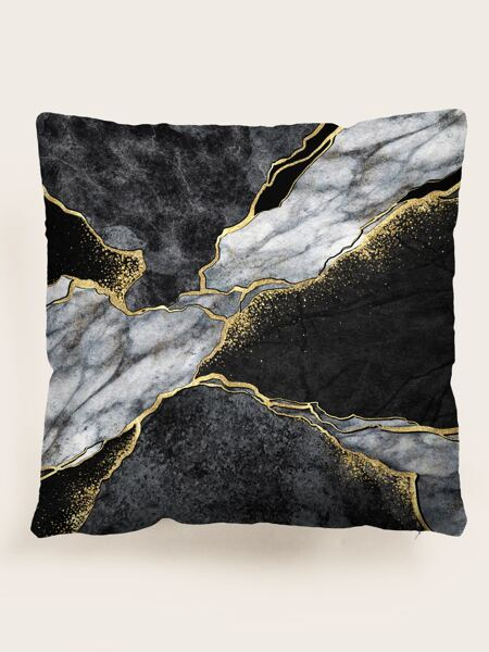Marble Pattern Cushion Cover Without Filler