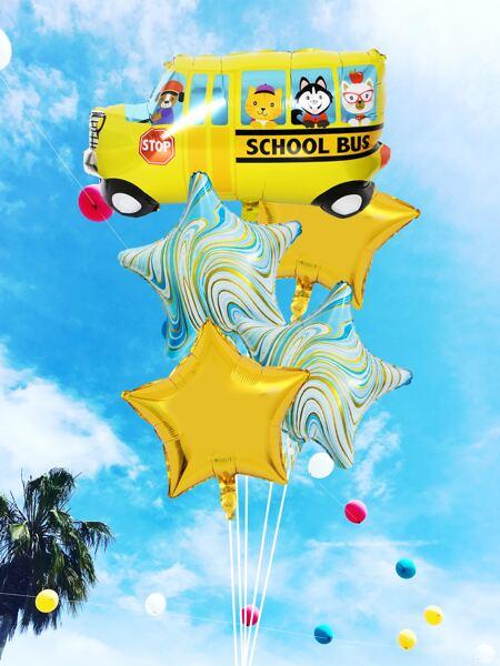 7pcs Cartoon Balloon Set