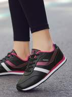 Lace-up Front Sneakers