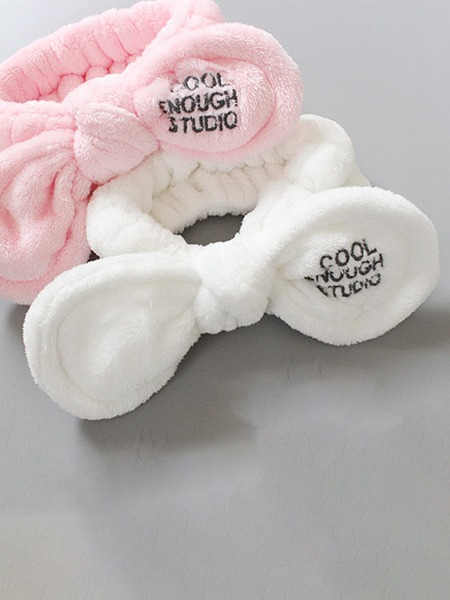 1pc Bow Detail Random Bath Headband