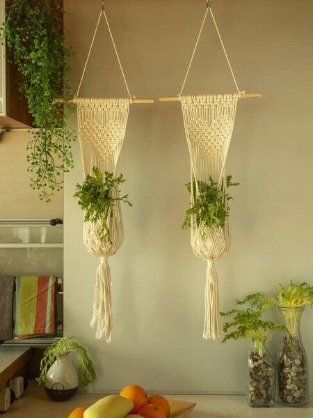 1pc Macrame Plant Hanger
