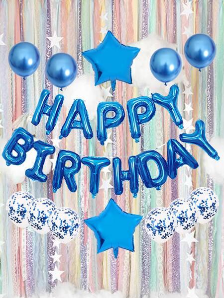 15pcs Birthday Party Balloon Set