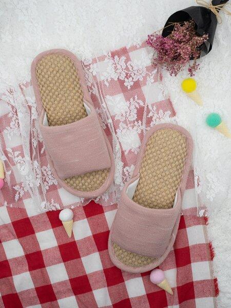 Open Toe Bedroom Slippers