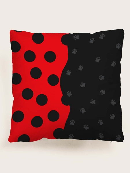 Kids Paw Print Cushion Cover Without Filler