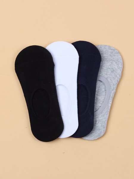 4pairs Minimalist Invisible Socks