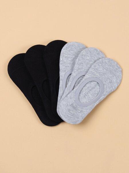 6pairs Minimalist Invisible Socks