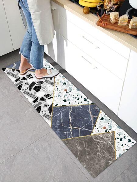 Marble Pattern Floor Mat