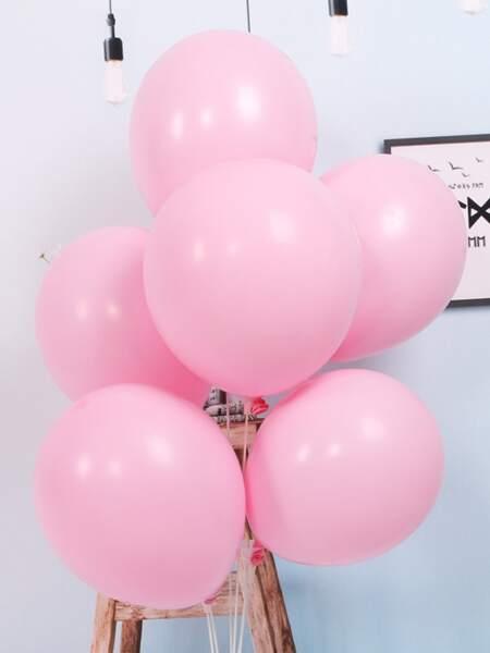 20pcs Solid Latex Balloon