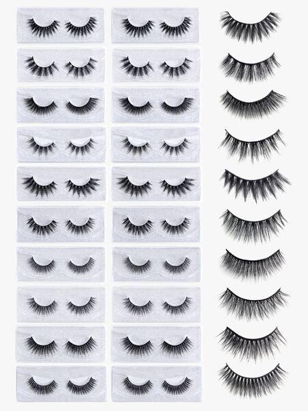 20pairs Mix Type Eyelashes