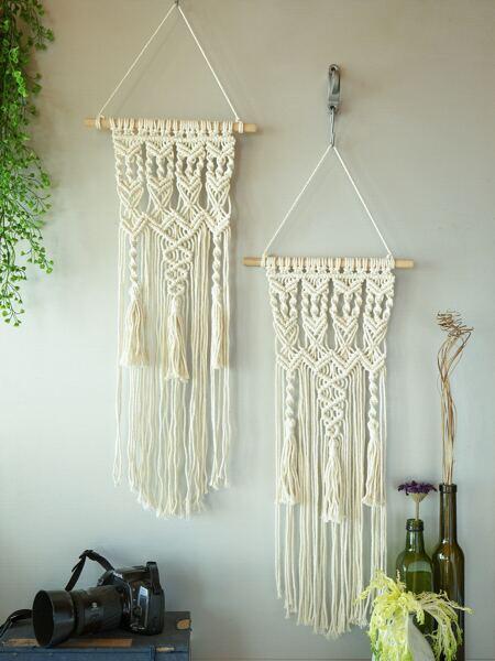 1pc Tassel Woven Wall Hanging