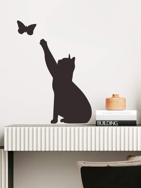 Cat Print Kids Wall Sticker