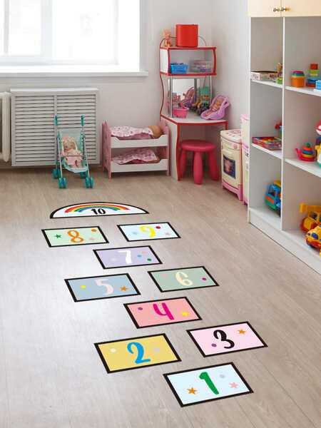 Kids Digital Print Floor Sticker