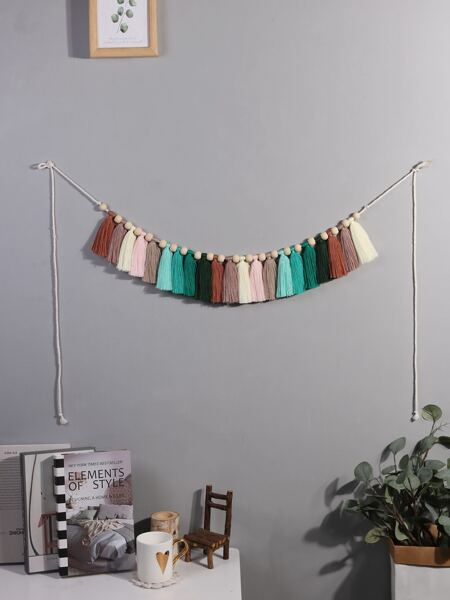 Tassel Braided Wall Hanging