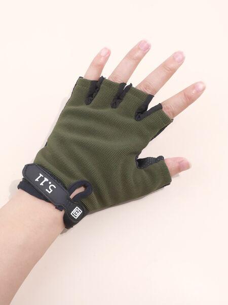 1pair Sports Half-finger Gloves