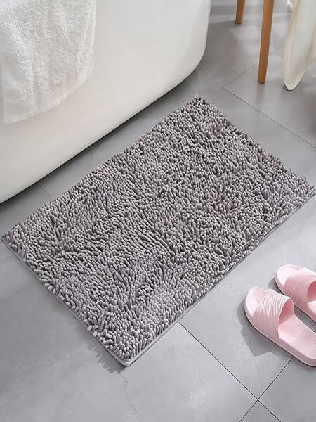 Solid Color Non-slip Bath Mat