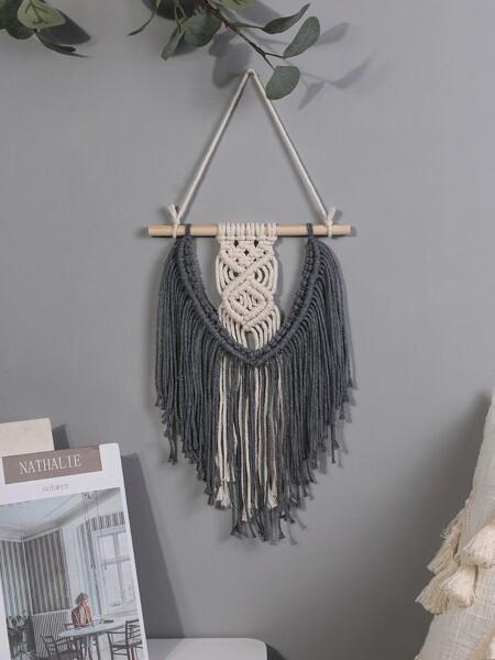 1pc Woven Tassel Wall Hanging
