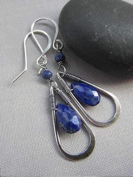 Hollow Water-drop Drop Earrings