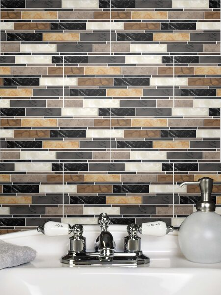 5sheets Ceramic Tile Texture Wall Sticker