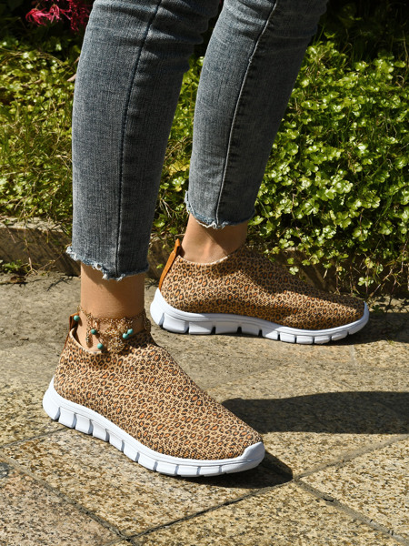 Leopard Running Shoes