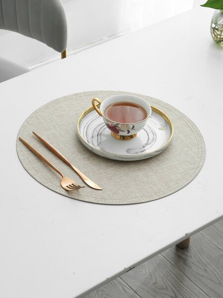 1pc Round Water Proof Placemat
