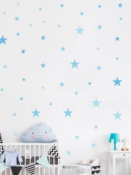 Star Print Kids Wall Sticker