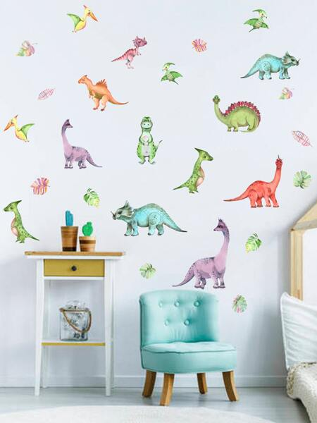 Dinosaur Print Kids Wall Sticker