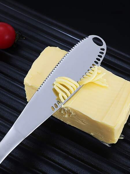1pc Stainless Steel Butter Knife
