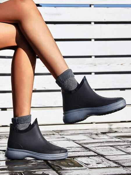 Minimalist Slip On Rain Boots