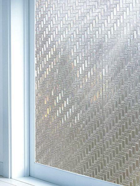 1pc Geometric Pattern Window Privacy Sticker