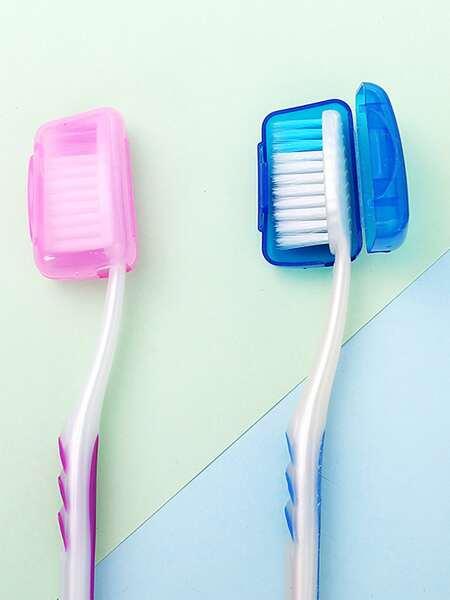 2pcs Random Travel Toothbrush Cover