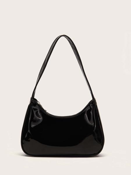 Patent Shoulder Bag
