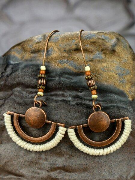 Hollow Out Drop Earrings