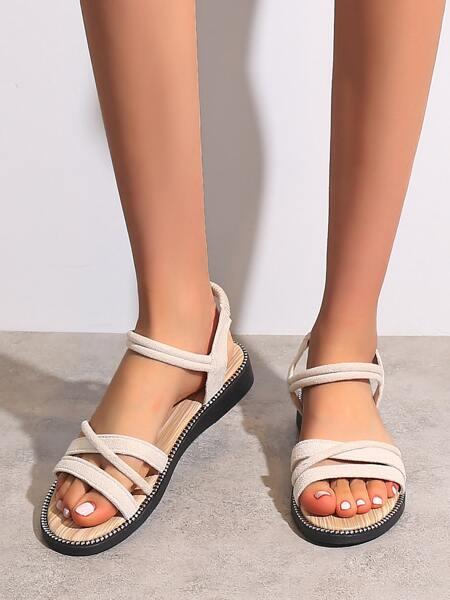 Minimalist Strap Sandals