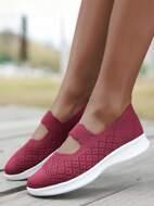 Mesh Panel Sport Shoes