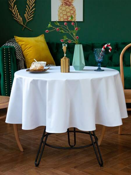 Solid Color Tablecloth
