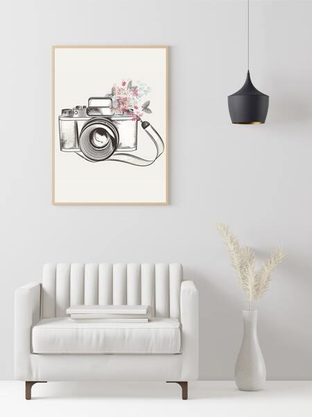 Camera Print Unframed Painting