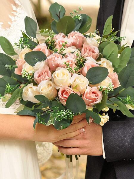 8pcs Wedding Decorative Flower Set