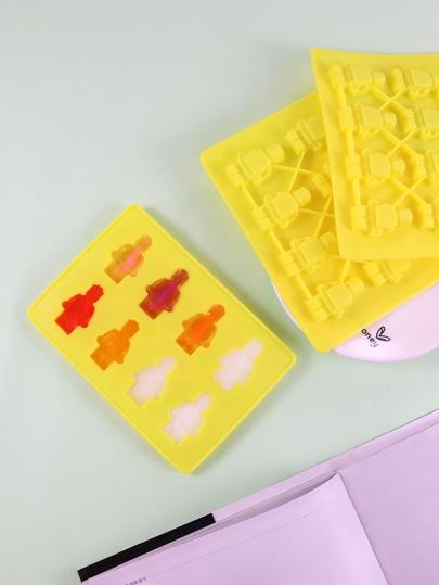 1pc Lego Robot Baking Mold