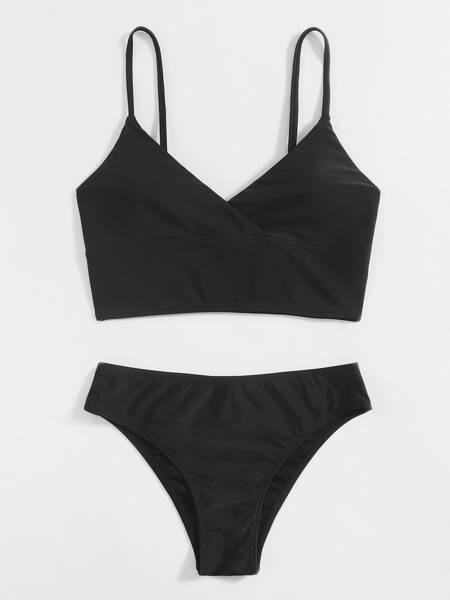 Adjustable Strap Bikini Swimsuit