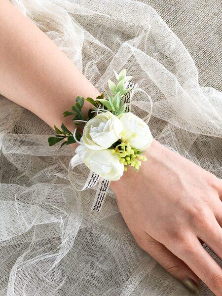 1pc Artificial Wrist Corsage