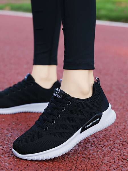Lace Up Front Running Shoes