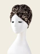 Flower Print Hat